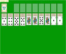 Spider Patience - Play Free Spider Solitaire (One Suit) Game